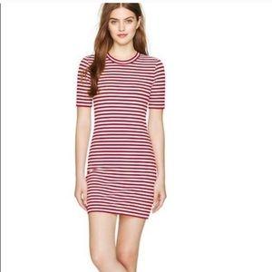 Aritzia Sunday Best Miller Dress Red White Striped